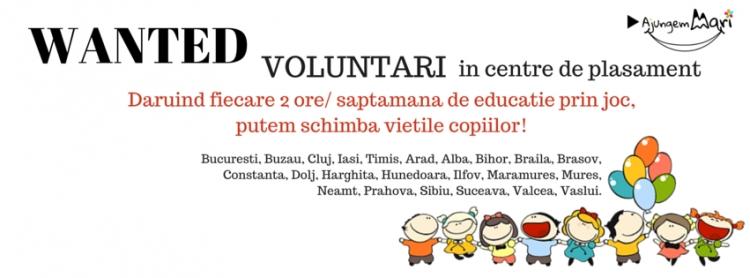 Voluntariatul in centrele de plasament ti se pare o idee buna? Aplica acum!