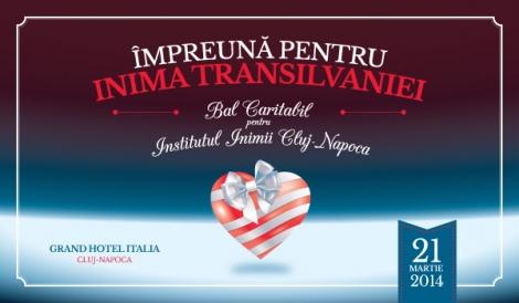Impreuna pentru Inima Transilvaniei – Bal Caritabil pentru Institutul Inimii Cluj-Napoca
