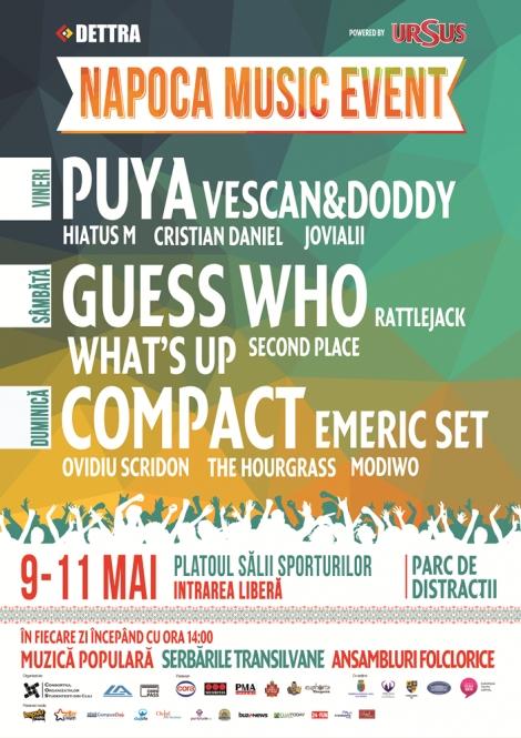 Distractie cat cuprinde la Napoca Music Event